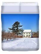 Battlefield Farm House Duvet Cover