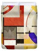 Bauhaus Rectangle Three Duvet Cover