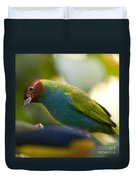 Bay-headed Tanager - Tangara Gyrola Duvet Cover