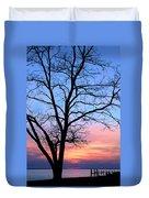 Bay Sunset Duvet Cover