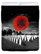Bayeaux Cemetry  Duvet Cover