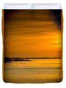 Bayport Dolphins Duvet Cover