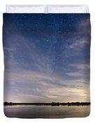 Bayville Nj Milky Way Duvet Cover