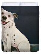 Baz The Dog Duvet Cover