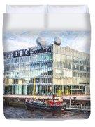 Bbc Scotland Broadcasting Centre Glasgow Duvet Cover