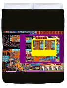 be a good friend to those who fear Hashem 12 Duvet Cover by David Baruch Wolk