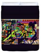 be a good friend to those who fear Hashem 16 Duvet Cover by David Baruch Wolk