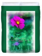 Be Like A Flower 01 Duvet Cover