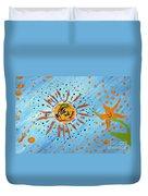 Be Like The Sun Duvet Cover