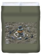 Beach Art Duvet Cover