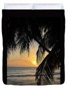 Beach At Sunset 1 Duvet Cover