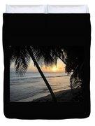 Beach At Sunset 4 Duvet Cover