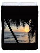 Beach At Sunset 5 Duvet Cover