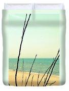 Beach Branches Duvet Cover