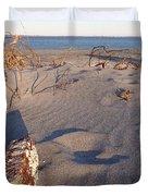 Beach Brick Duvet Cover