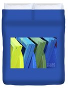Beach Chair Palette 2 Duvet Cover