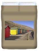 Beach Chalets - Whitby Duvet Cover