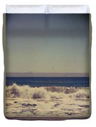 Beach Days Duvet Cover by Laurie Search