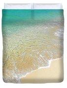 Golden Sand Beach Duvet Cover