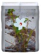 Beach Flower Duvet Cover