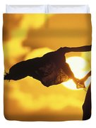 Beach Girl Duvet Cover
