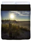 Beach Glare Duvet Cover