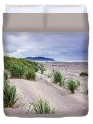 Beach Grass Duvet Cover by Robert Bales