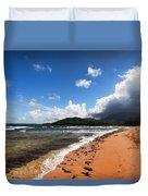 Beach Of Color Duvet Cover