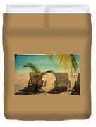 Beach Paradize Duvet Cover