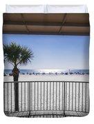 Beach Patio Duvet Cover