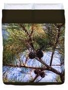 Beach Pine Duvet Cover