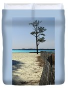 Beach Pine Duvet Cover