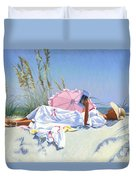 Beach Recliner Duvet Cover