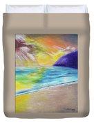 Beach Reflection Duvet Cover