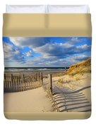 Beach Shadows  Duvet Cover
