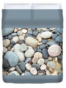 Beach Stones Duvet Cover