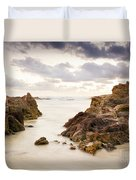 Beach Sunrise Duvet Cover