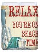 Beach Time 1 Duvet Cover