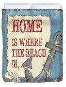 Beach Time 2 Duvet Cover