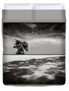 Beach Tree Duvet Cover