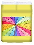 Beach Umbrella 2 Duvet Cover