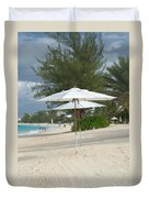 Beach Umbrellas Duvet Cover