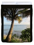 Beach Under The Palm 4 Duvet Cover