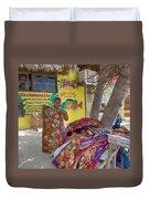 Beach Vendor Duvet Cover