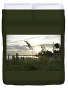 Beach Volleyball Duvet Cover