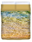 Beach Water Abstract Duvet Cover