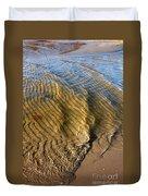 Beach Wave Pattern. Duvet Cover