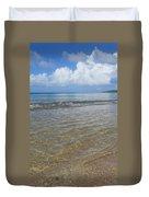Beach Waves Tall Duvet Cover