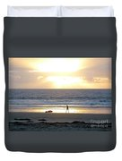 Beachcomber Encounter Duvet Cover