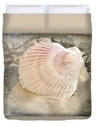 Beached Duvet Cover by Betty LaRue